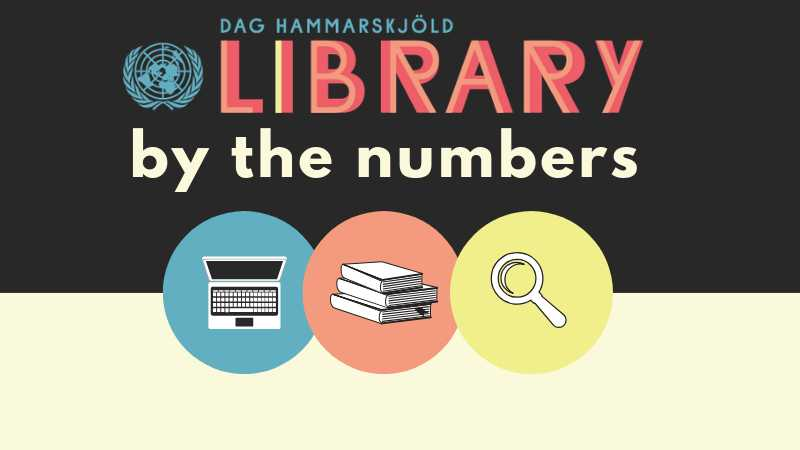 Dag Hammarskjöld Library By the Numbers