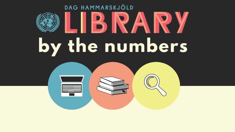Dag Hammarskjöld Library By the Numbers