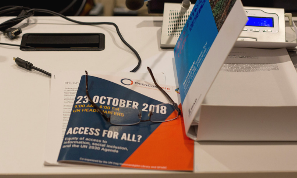 OpenCon 2018 at UN Headquarters