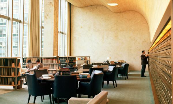 Second Floor Reading Room