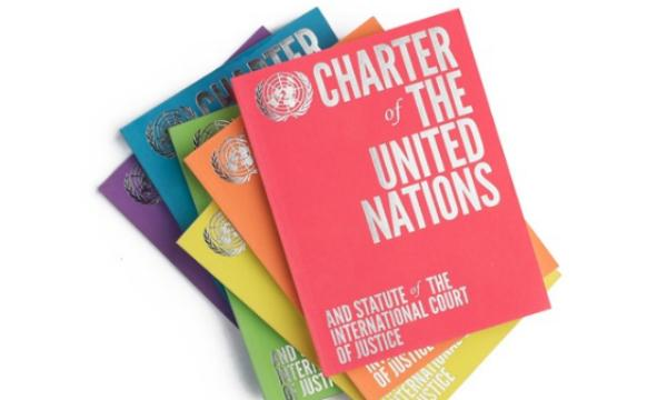 Book cover: Charter of the UN