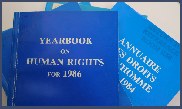 Yearbook on Human Rights
