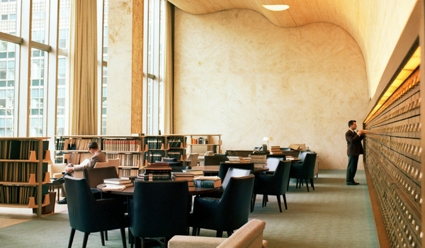 Second Floor Reading Room