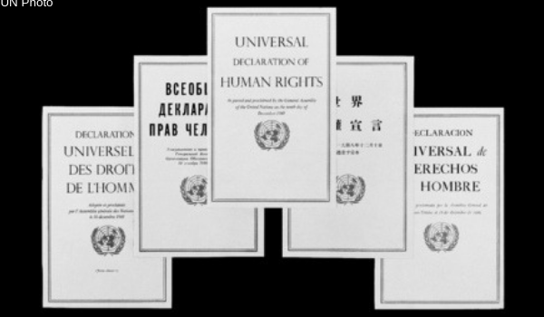 Drafting of the Universal Declaration of Human Rights