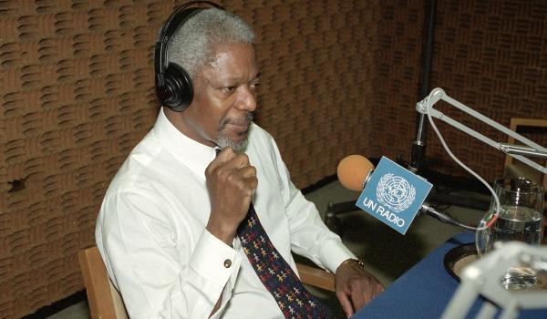 Kofi Annan Interview
