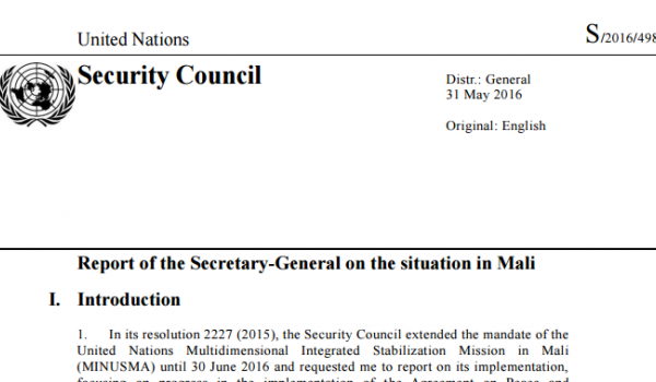 United Nations Document Masthead